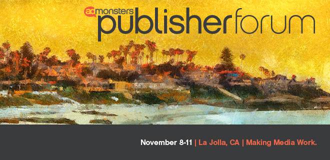 What Happened at Publisher Forum on Monday