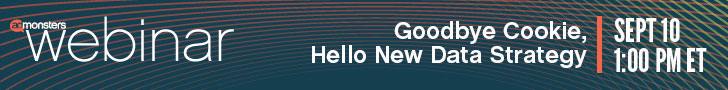 Webinar: Goodby Cookie, Hello New Data Strategy
